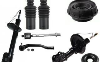 Стойка амортизатора на рено дастер: выбор и замена