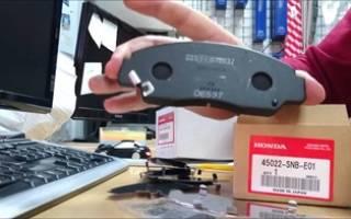 Тормозные колодки на Хонда Цивик: выбор и технические характеристики, особенности эксплуатации и инструкция по замене своими руками
