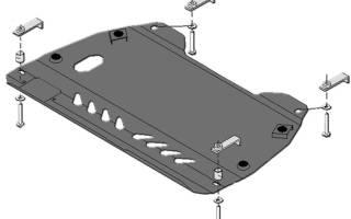 Защита тойота камри 40: пластиковая, стальная автоброня
