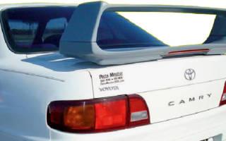 Спойлер на Тойота Камри 40: достоинства и недостатки обвесов, советы по выбору и установке своими руками, мнение специалистов и отзывы владельцев