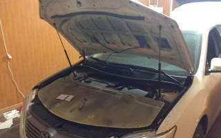 Капот на Тойота Камри 40: как снять обшивку и сделать шумоизоляцию своими руками, пошаговые инструкции, советы специалистов и отзывы владельцев