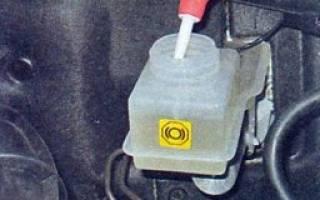 Тормозная жидкость лада калина: выбор, замена