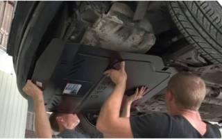 Защита двигателя Шевроле Круз: инструкция по самостоятельной установке защитного элемента, рекомендации по обслуживанию и эксплуатации